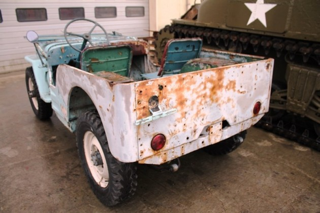 "Jeep willys early ""slat grill"""