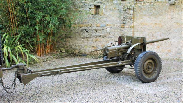US M3 Canon anti char