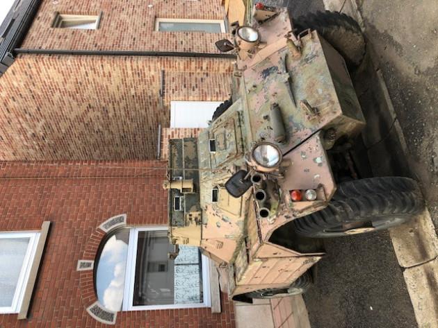 Tank char sur roue automitrailleuse Daimler furret
