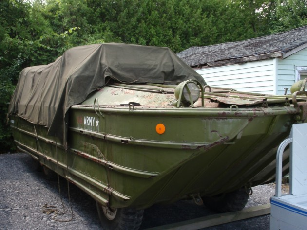 21/2 ton army DUKW